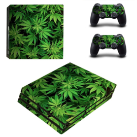 Weed Leaves - PS4 Pro Console Skins
