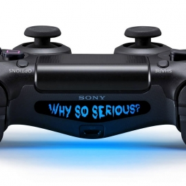 Why So Serious? - PS4 Lightbar Skins