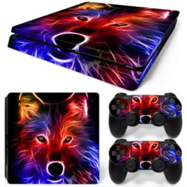 Fox - PS4 Slim Console Skins