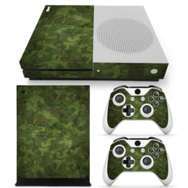 Army Camouflage Woodland - Xbox One S Console Skins
