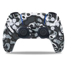 PS5 Controller Skins - Artboard Wit / Zwart