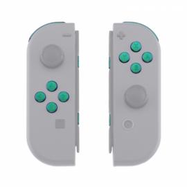NS Buttons - Groen / Paars Metallic - Joy Con Controller Buttons