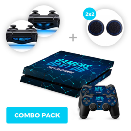 Gamers Skins Bundle - PS4 Combo Packs