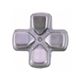 Silver Matte D-pad - PS4 Controller Buttons
