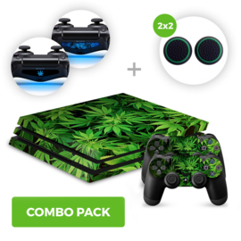 Weed Skins Bundel - PS4 Pro Combo Packs