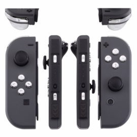 Silver Chrome - Nintendo Switch Controller Buttons
