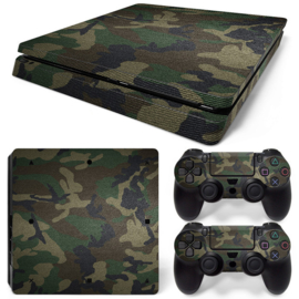 Army Camouflage Premium - PS4 Slim Console Skins