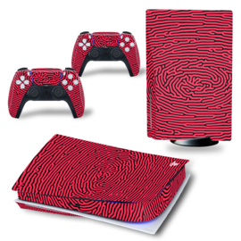 PS5 Console Skins - Cool Gradient Rood