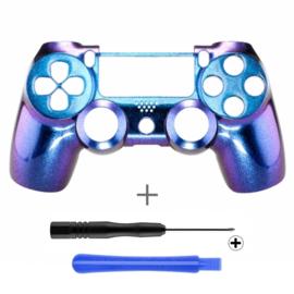 Metallic Chameleon Blue / Purple (GEN 4, 5) - PS4 Controllers Shells