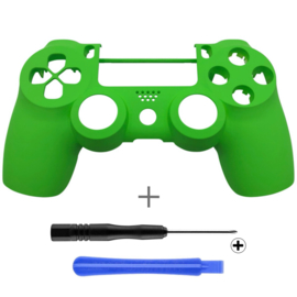 Soft Touch Green (GEN 4, 5) - PS4 Controllers Shells