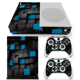 3D Cubes - Xbox One S Console Skins