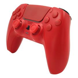 Sony PS5 DualSense Draadloze Controller - Rood Set Custom
