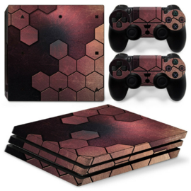 Steel Bronze - PS4 Pro Console Skins