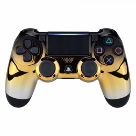 Chrome Black / Gold / Silver - Custom PS4 Controllers