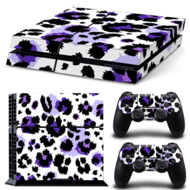 Leopard Print Purple - PS4 Console Skins