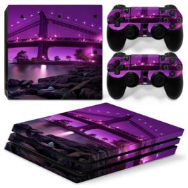 Purple Bridge - PS4 Pro Console Skins