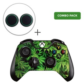 Weed Skins Grips Bundel - Xbox One Controller Combo Packs