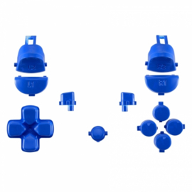 Blauw Polished (GEN 4, 5) - PS4 Controller Buttons