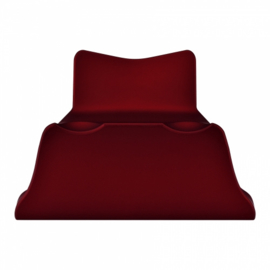 Soft Touch Red - PS4 Controller Stands