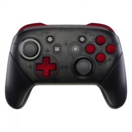 Soft Touch Red - Nintendo Switch Pro Controller Buttons