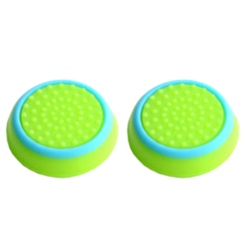 Green with Blue Cirkel - PS4 Thumb Grips