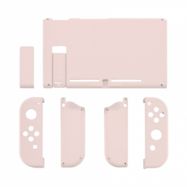 Soft Touch Lichtroze - Nintendo Switch Complete Set Shells