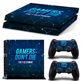 Gamers - PS4 Console Skins
