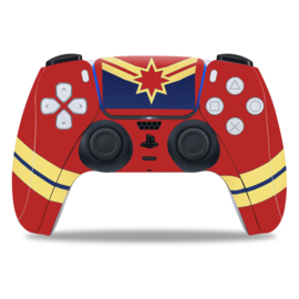 PS5 Controller Skins - Captain Marvel