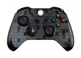 3D Cubes Dark - Xbox One Controller Skins