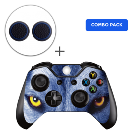 Wolf Eyes Skins Grips Bundel - Xbox One Controller Combo Packs
