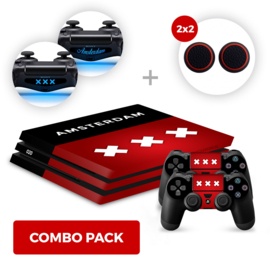 Amsterdam Skins Bundel - PS4 Pro Combo Packs