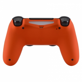 Soft Touch Orange (GEN 4, 5) - PS4 Controller Back Shells