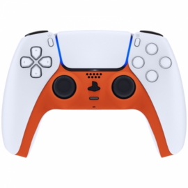 Sony PS5 DualSense Wireless Controller - Orange Soft Touch Cover Custom