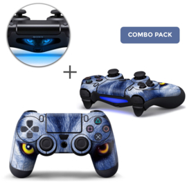 Wolf Eyes Skins Bundle - PS4 Controller Combo Packs