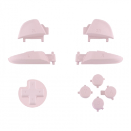 Soft Touch Pink - Nintendo Switch Pro Controller Buttons