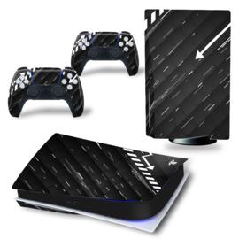 PS5 Console Skins - Black Arrow