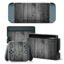 Wood Grey Oak - Nintendo Switch Skins