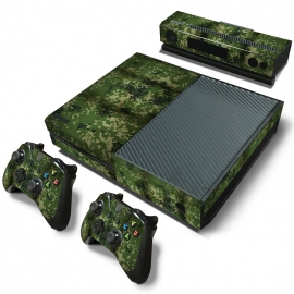 Army Camouflage Jungle - Xbox One Console Skins