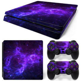 Dark Galaxy - PS4 Slim Console Skins