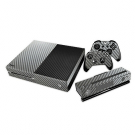 Gray Carbon - Xbox One Console Skins