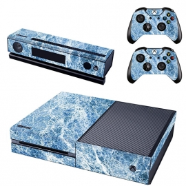 Marble Blue - Xbox One Console Skins