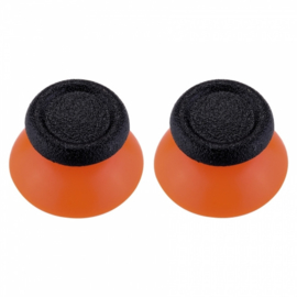Orange with Black - PS4 Thumbsticks