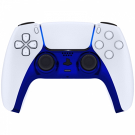 Sony PS5 DualSense Draadloze Controller - Blauw Chrome Cover Custom