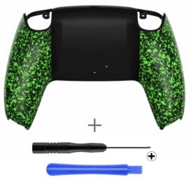 PS5 Controller Behuizing Shell - Groen 3D Grip - Back Shell