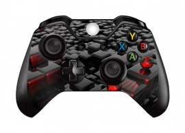 Abstract Red - Xbox One Controller Skins