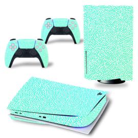 PS5 Console Skins - Cool Gradient Mintgroen