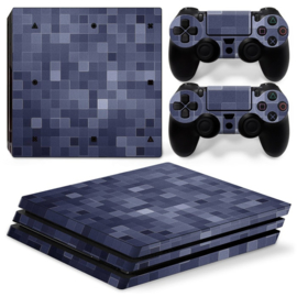 Blocks - PS4 Pro Console Skins