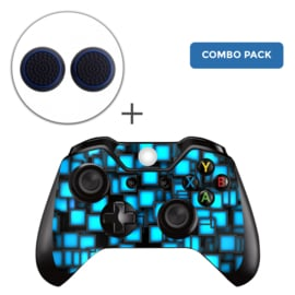 Blue Boxes Skins Grips Bundel - Xbox One Controller Combo Packs