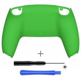 PS5 Controller Behuizing Shell - Groen Soft Touch - Back Shell