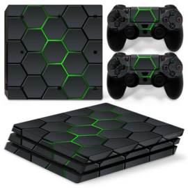 Hex Lime - PS4 Pro Console Skins